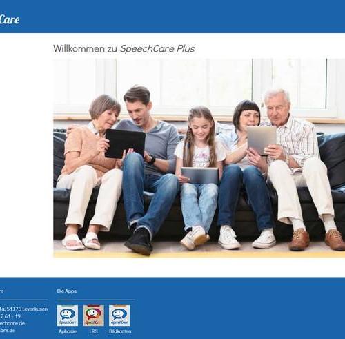 SpeechCare Plus+ Portal
